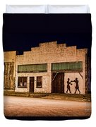 Shadow Boxing Duvet Cover by Gary Holmes
