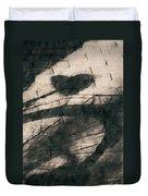Shadow Heart Chalk 1 Hp Duvet Cover