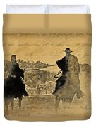 Shadow Riders Duvet Cover