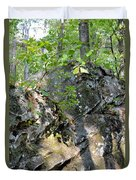 Shadow Rock Duvet Cover