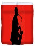 Shadow Sax Duvet Cover