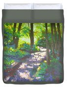 Shadowed Path Duvet Cover