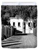 Shadows At Clos Pegase Winery Duvet Cover