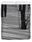 Shadows In Boyertown Park Duvet Cover