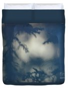 Shadowy Figures In The Hood Duvet Cover