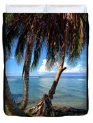 Shady Palm Beach Duvet Cover