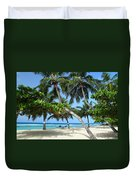 Shady Palms Duvet Cover
