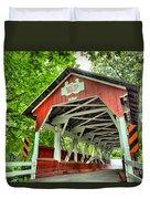 Shafer Covered Bridge Duvet Cover