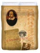 Shakespeare 2 Duvet Cover