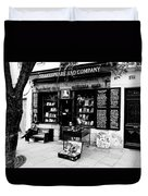 Shakespeare And Company Boookstore In Paris France Duvet Cover