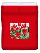 Shakespeare Tulips Duvet Cover