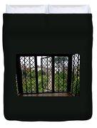 View Through Shakespeare's Window Duvet Cover