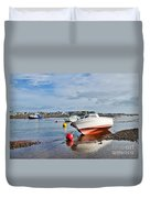 Shaldon-teignmouth Harbour 3 Duvet Cover