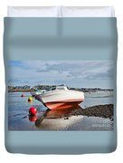 Shaldon-teignmouth Harbour Duvet Cover