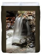 Shale Creek Waterfall Duvet Cover