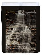 Shale Waterfalls Cascade Duvet Cover