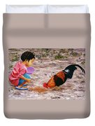 Shamika Duvet Cover by Victor Collector