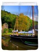 Shamrock Barge Duvet Cover