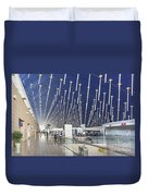 Shanghai Pudong Airport In China Duvet Cover