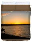 Shared Silhouette Duvet Cover