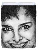 Shari Belafonte In 1985 Duvet Cover