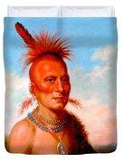 Sharitarish. Wicked Chief. Pawnee Duvet Cover