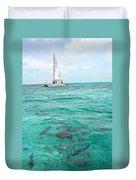 Shark N Sail I Duvet Cover