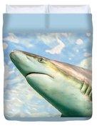 Shark Profile Duvet Cover
