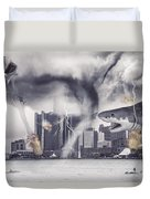 Sharknado Detroit Duvet Cover