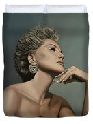 Sharon Stone Duvet Cover