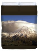 Shasta Storm Duvet Cover by Bill Gallagher