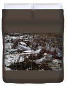 Shattered Field Duvet Cover