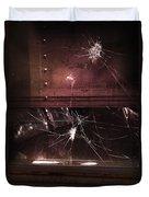 Shattered Window Duvet Cover