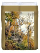 Shawee Bluff In Fall Duvet Cover
