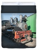 Shay Engine 12 In The Colorado Railroad Museum Duvet Cover