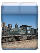 Shay Engine 14 In The Colorado Railroad Museum Duvet Cover