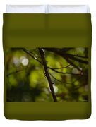 She Waits In Darkness Duvet Cover