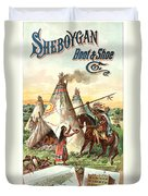 Sheboygan Boots Duvet Cover by Gary Grayson