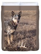 Shed Hunting Duvet Cover