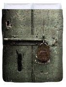 Shed Of Secrets Duvet Cover