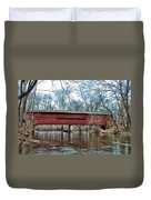 Sheeder - Hall - Covered Bridge Chester County Pa Duvet Cover