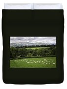 Sheep And More Sheep Duvet Cover