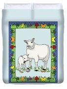 Sheep Artist Sheep Art II Duvet Cover