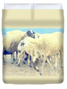 It's So Sheep To Be In The Middle Of A Crowd Duvet Cover
