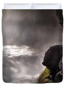Sheep Falls Mist Duvet Cover