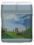 Sheep Field Duvet Cover