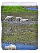 Sheep In Branch-nl Duvet Cover