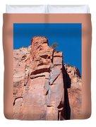 Sheer Canyon Walls Duvet Cover
