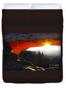Sheer Magic Mesa Arch Utah Duvet Cover