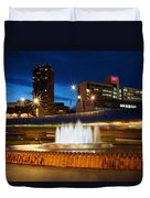 Sheffield Water Feature Duvet Cover